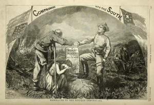 Thomas Nast Compromise with the South