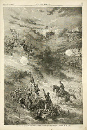 Capture of Lookout Mountain - Fighting Among the Clouds