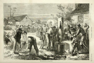 Thomas Nast Civil War Print - The Halt