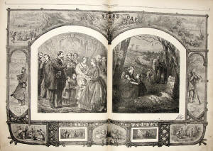 Thomas Nast New Years 1864
