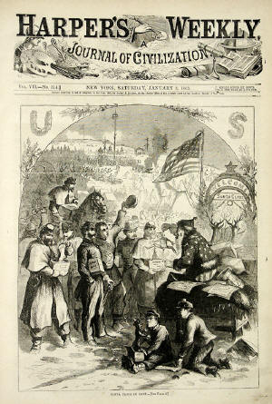 Thomas Nast Santa Claus Picture