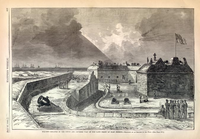 Fort Pickens Civil War