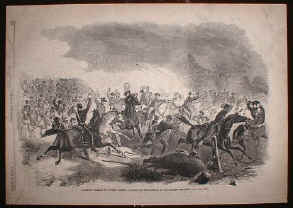 Cavalry Charge at Dug Springs