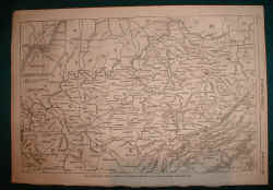 Civil War Battle Map of Kentucky