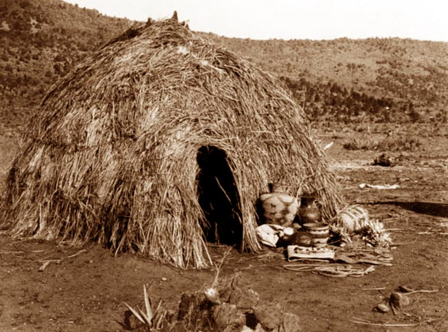 This Is A Picture Of An Apache House This Is A Picture