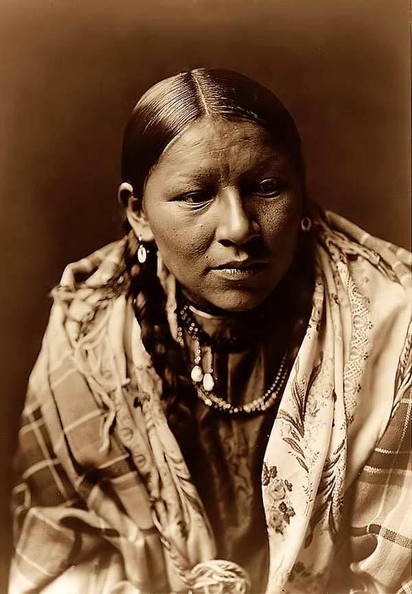 Calf cheyenne woman buffalo road