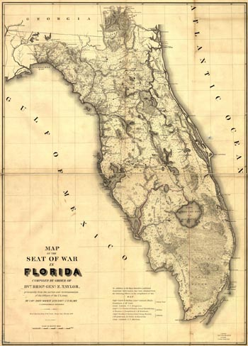 america's first war of conquest - florida!