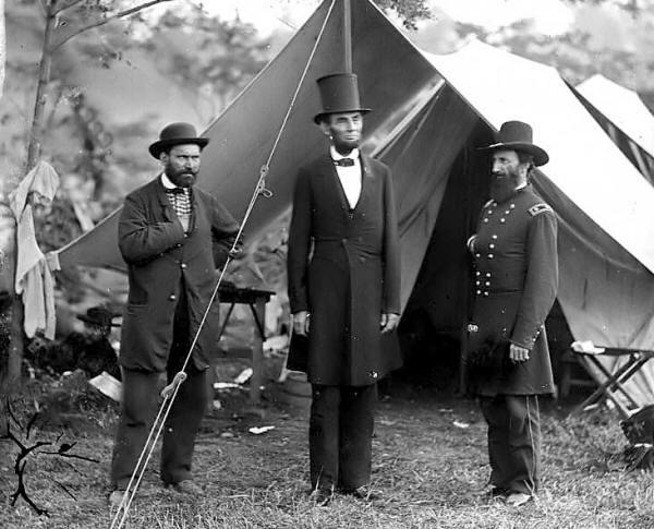 Abraham Lincoln At Antietam