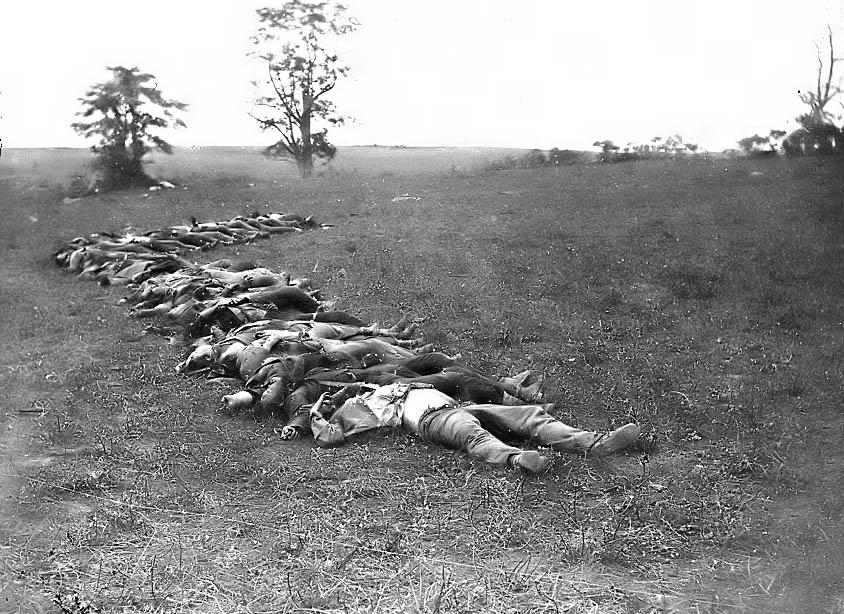 Dead Civil War Soldier...