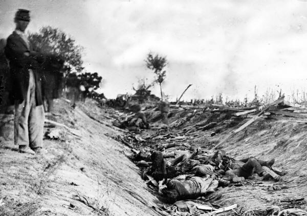 Antietam Battle Dead