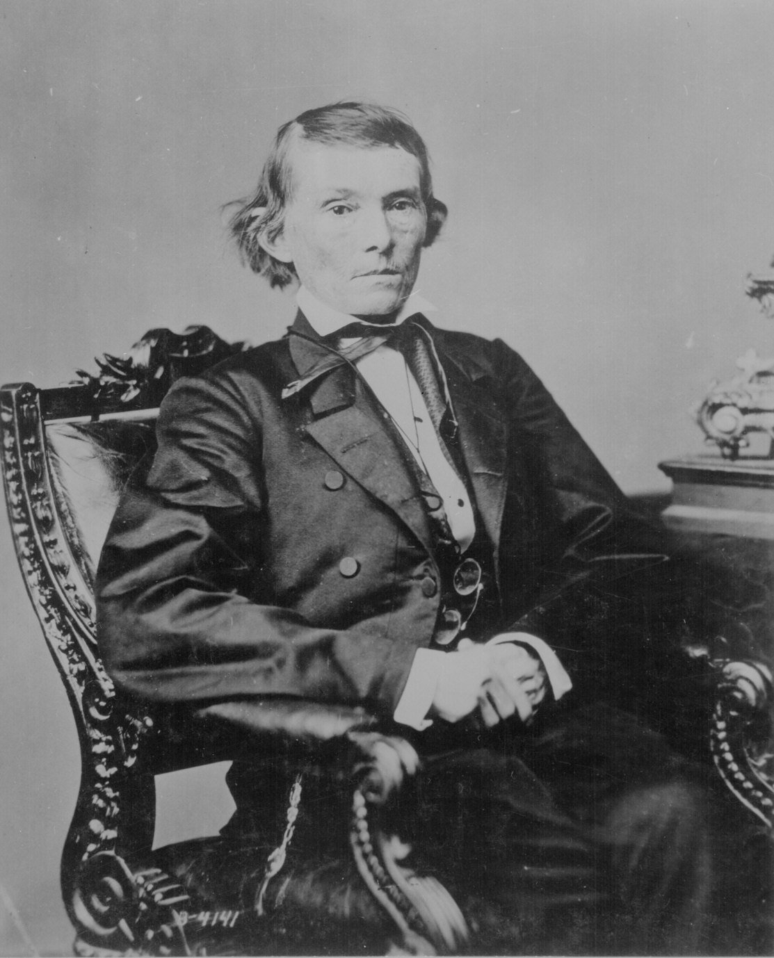 Jefferson Davis And Alexander Stephens