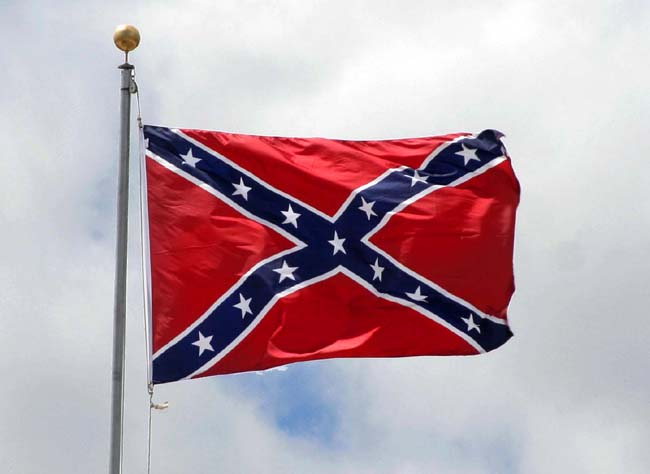 Image of the Confederate flag.