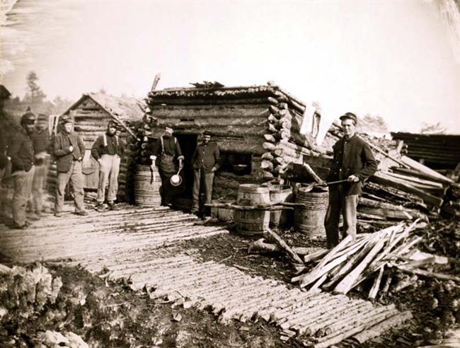 A Soldier's Life During the Civil War from www.sonofthesouth.net