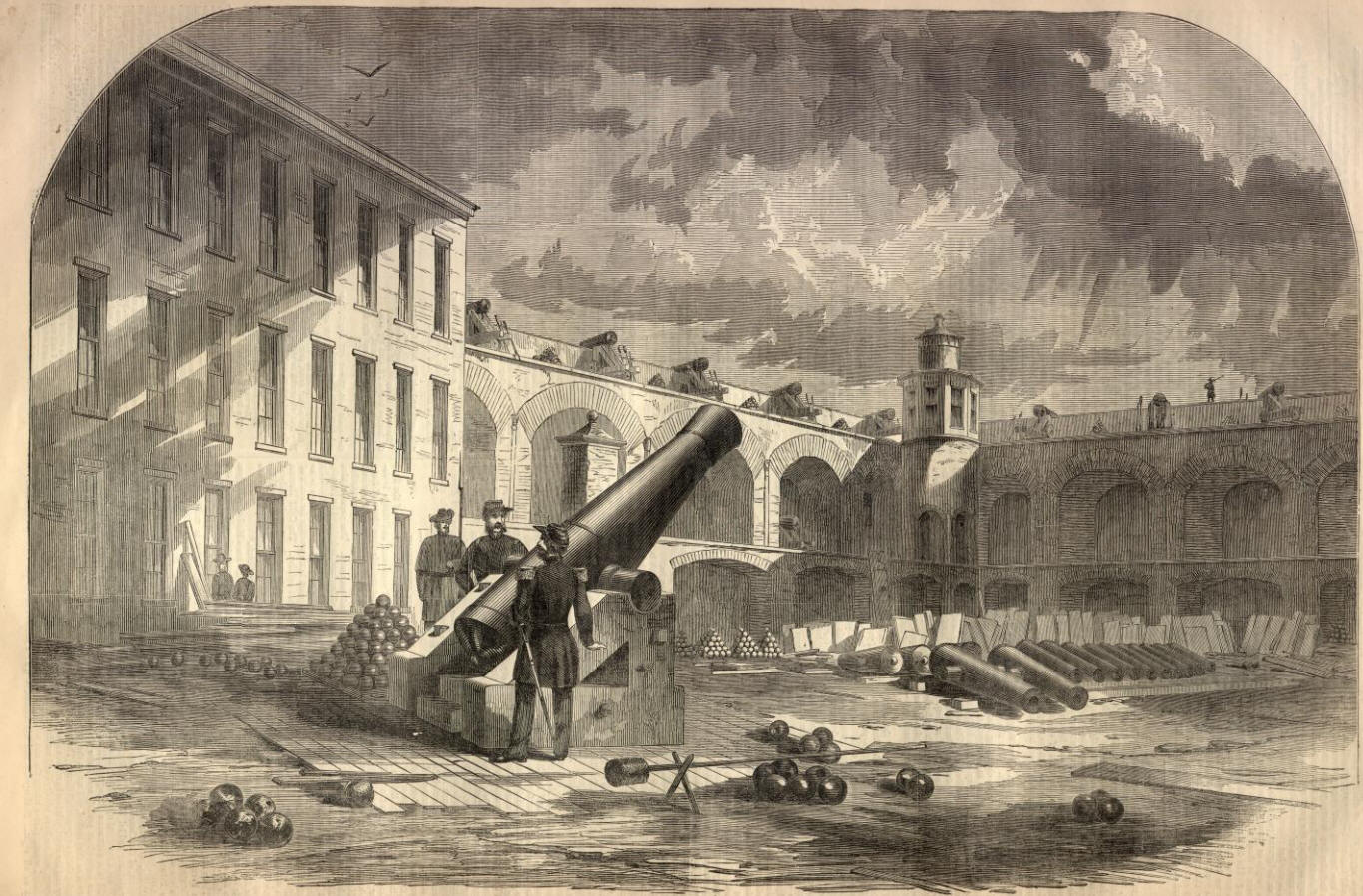 a history of the fort sumter battle during the civil war Battle of fort sumter: the battle of fort sumter was the opening engagement of the american civil war.