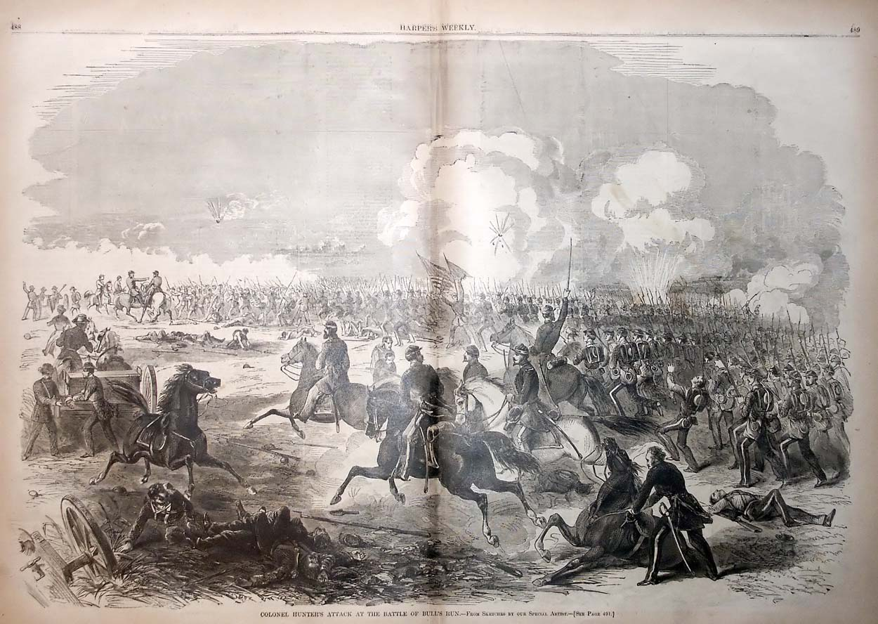 Hunter's Charge at the Battle of Bull Run