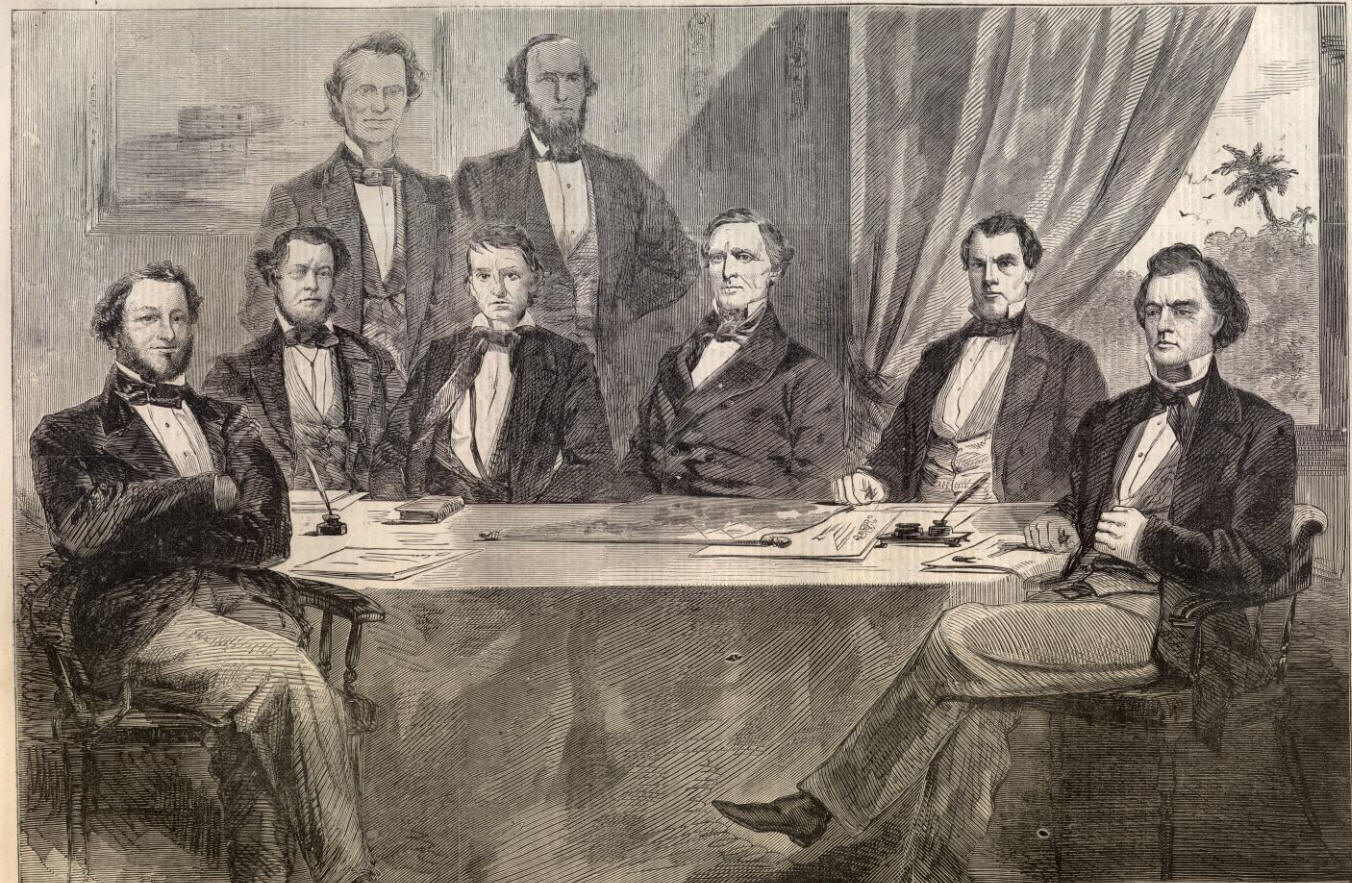 Exceptional Confederate Cabinet