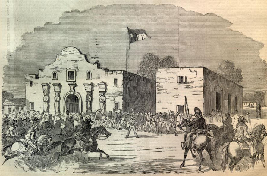 the history and description of the alamo as a peaceful mission The official website for the alamo in san the mission that we know today as the alamo was born as mission san antonio de valero in living history.