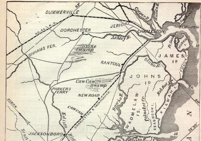 Of South Carolina Coast - South carolina coast map