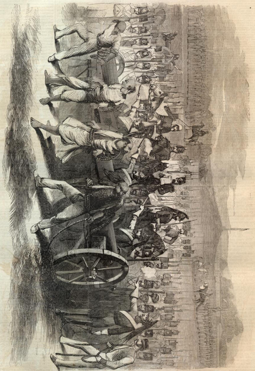 British Atrocities in India http://www.sonofthesouth.net/leefoundation/civil-war/1862/february/british-atrocities-india.htm