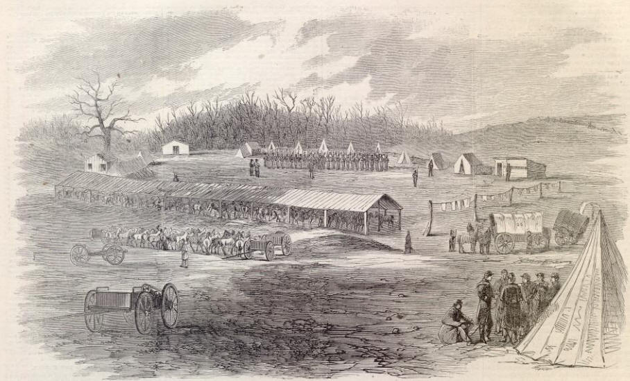Hancock (MD) United States  city photos gallery : ... SCOUTS, NEAR HANCOCK, MARYLAND. [SKETCHED BY MR. W. W. CHARLES