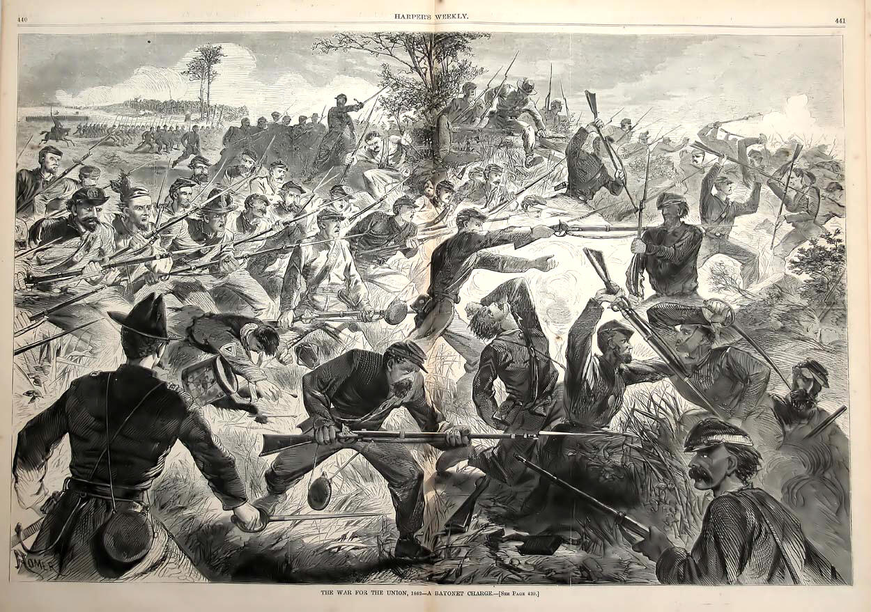 The War for the Union - A Bayonet Charge