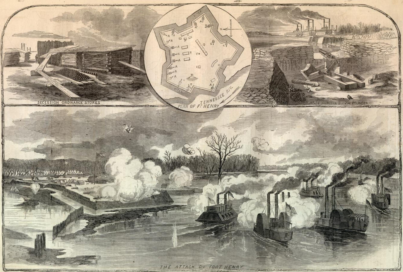 The Capture of Fort Henry
