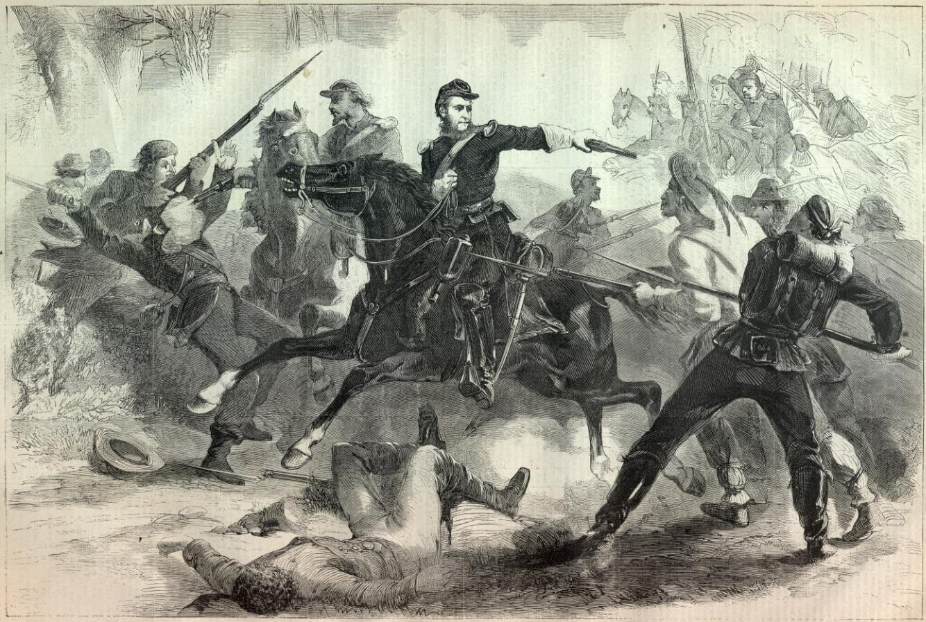 COLONEL KILPATRICKS LATE CAVALRY RAID THROUGH VIRGINIA.—[SEE PAGE ...