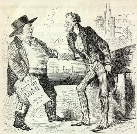 President Lincoln Cartoon