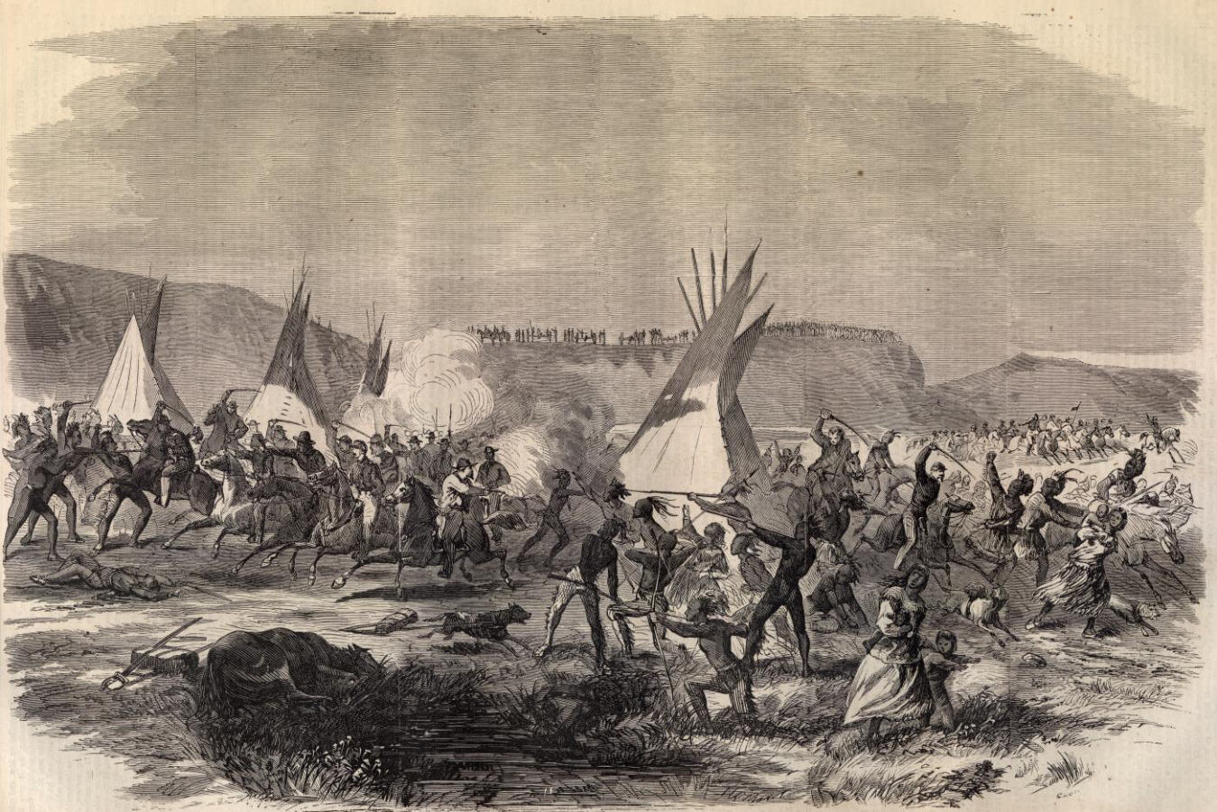 the great sioux war The great sioux war refers to series of conflicts from 1876 to 1877 involving the lakota sioux and northern the history of the great sioux nation sioux wars.