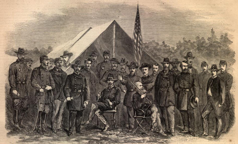 a biography of george meade an american civil war general George gordon meade never wanted to be a soldier, but the civil war general and victor of gettysburg found fame as both a warrior and engineer.