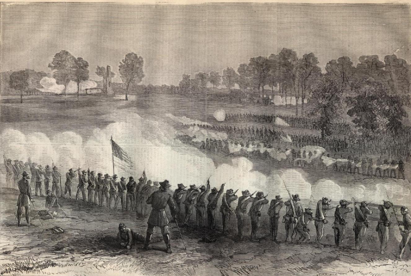 Battle at Fort Harrison