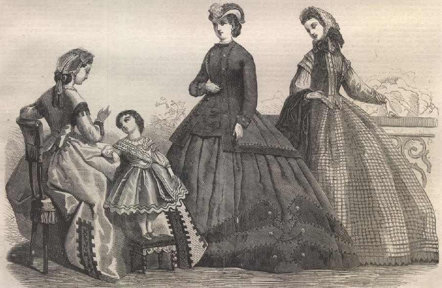 paris fashions for october 1864