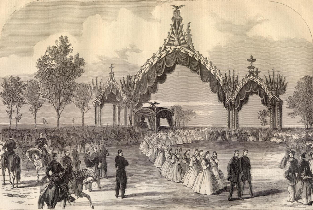 Abraham Lincoln S Chicago Funeral