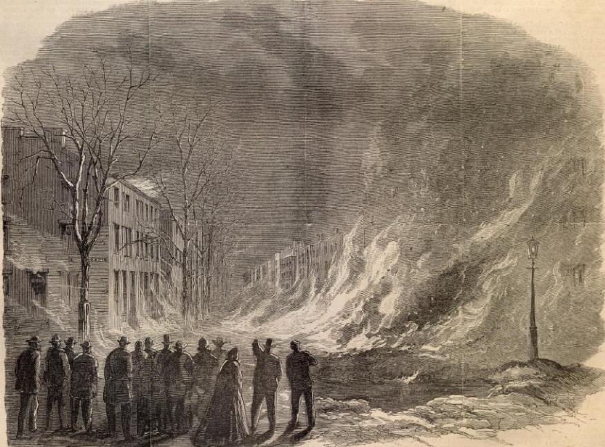 Image result for civil war fire