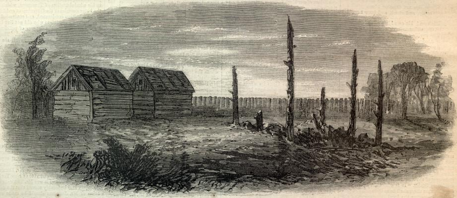Garrett's Barn where John Wilkes Booth was shot