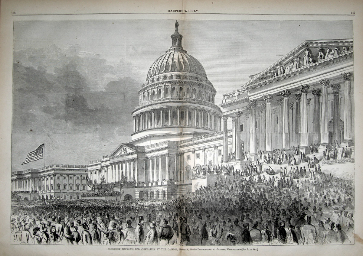 Picture Of Abraham Lincoln Inauguration