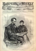 Abraham Lincoln and his Son Tad Lincoln