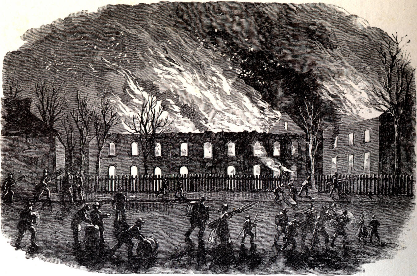 an account of events during the john browns raid on the federal armory at harpers ferry in 1859 Brown's freedom fighters easily captured harpers ferry's federal armory during the trial of john brown, october, 1859 john brown and the harpers ferry raid.