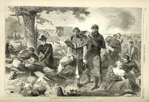 Winslow Homer-  The Civil War Surgeon at Work in the Field