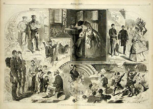 Winslow Homer News from the War Print