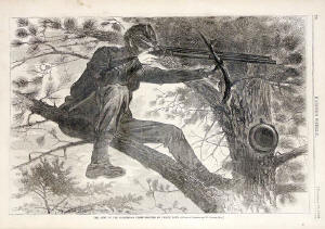 Winslow Homer- The Sharpshooter on Picket Duty