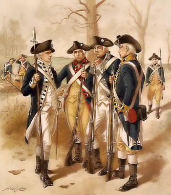 American Revolutionary War; To most people, war between England