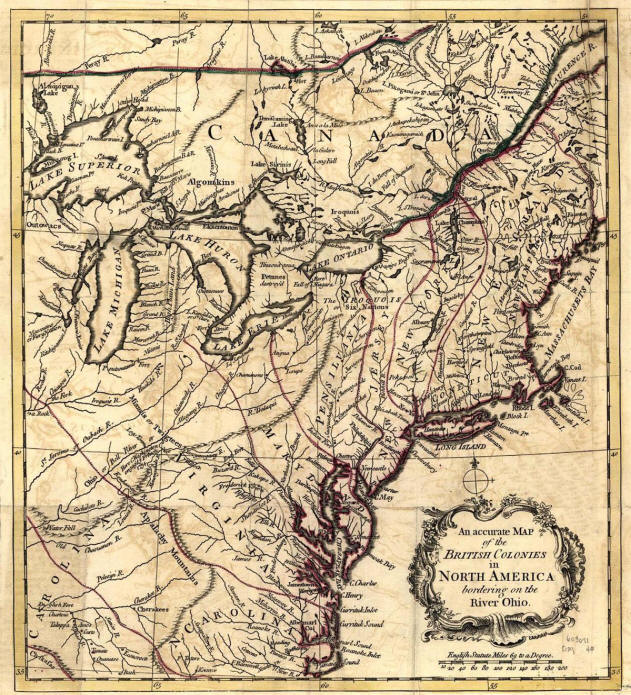 What were the Original 13 Colonies  Colonies Map on