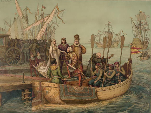 Christopher Columbus Voyage