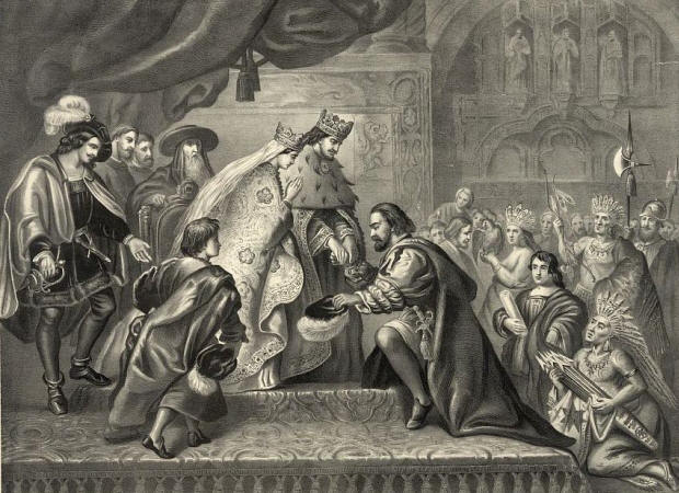 an analysis of christopher columbus voyage in his letter for king ferdinand and queen isabella Knig ferdinand and queen isabella the king and queen of spain who provided columbus with the necessary ships and money for his voyage in christopher columbus.