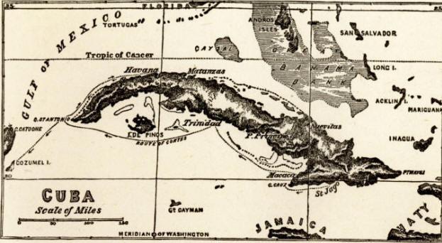 Hernan Cortes Exploration Route Map: Hernando Cortez (Cortes