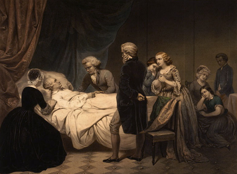George Washington Death Bed