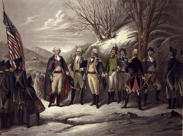 General George Washington Revolutionary War Picture of General Geo...