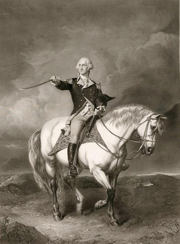 General George Washington Revolutionary War George Washington on Horseback