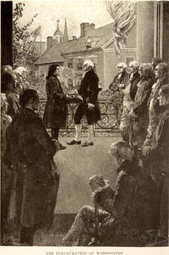 George Washington S First Inauguration